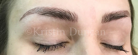 Client #1 - After Eyebrow Microblading #2
