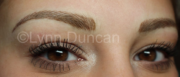 Client #2 - After Permanent Makeup Eyebrows #2