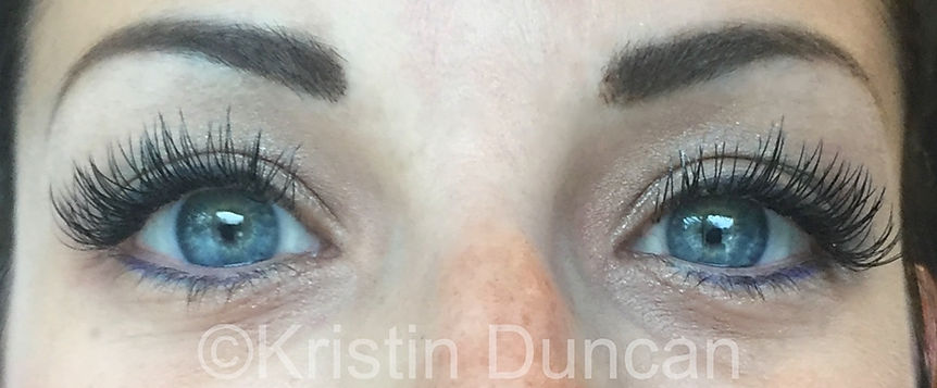 Client #2 - After Eyelash Extensions