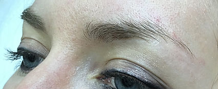 Client #10 - Before Eyebrow Microblading #2