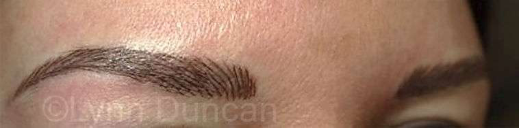 Client #23 - After Permanent Makeup Eyebrows