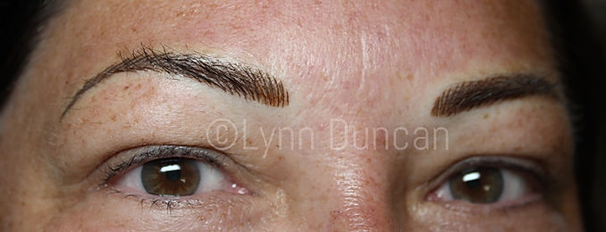 Client #12 - After Permanent Makeup Eyebrows