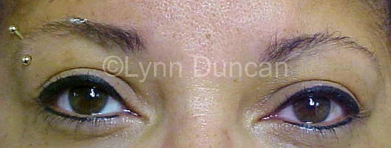 Client #6 - After Permanent Makeup Eyeliner