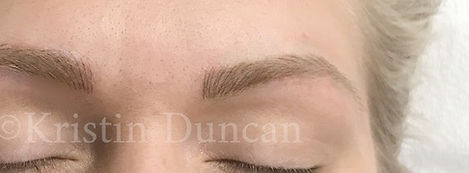Client #6 - After Eyebrow Microblading #2