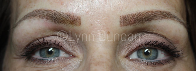 Client #10 - After Permanent Makeup Eyebrows