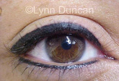 Client #6 - After Permanent Makeup Eyeliner #3
