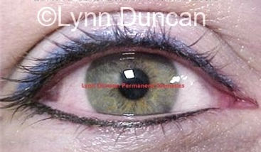 Client #19 - After Permanent Makeup Eyeliner
