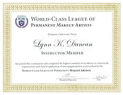 World Class League Of Permanent Makeup Artists - Lynn Duncan