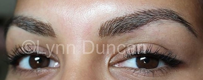 Client #1 - After Permanent Makeup Eyebrows #3