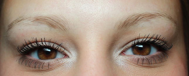Client #2 - Before Permanent Makeup Eyebrows