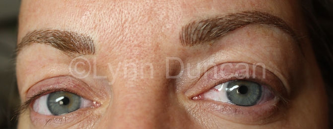 Client #14 - After Permanent Makeup Eyebrows