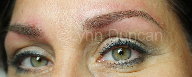 Client #3 - After Permanent Makeup Eyebrows #3