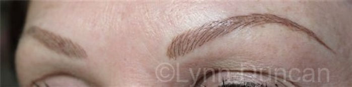 Client #24 - After Permanent Makeup Eyebrows #2