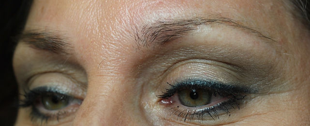 Client #3 - Before Permanent Makeup Eyebrows #3