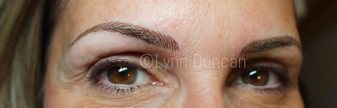 Client #9 - After Permanent Makeup Eyebrows