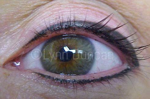 Client #13 - After Permanent Makeup Eyeliner #3