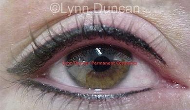 Client #17 - After Permanent Makeup Eyeliner