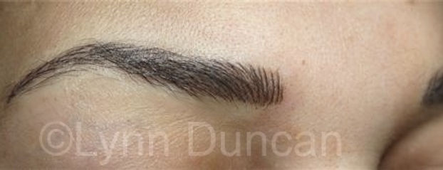 Client #18 - After Permanent Makeup Eyebrows
