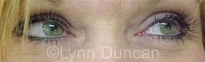 Client #1 - After Permanent Makeup Eyeliner #2