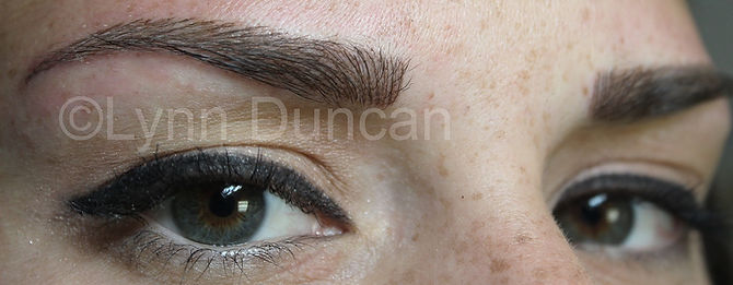 Client #6 - After Permanent Makeup Eyebrows #2