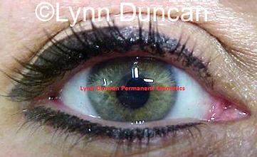 Client #16 - After Permanent Makeup Eyeliner