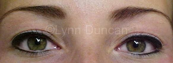 Client #2 - After Permanent Makeup Eyeliner
