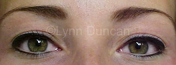Client #2 - After Permanent Makeup Eyeliner