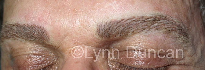Client #1 - After Men's Permanent Makeup Eyebrows