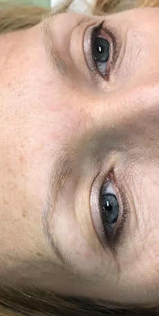 Before Microblading Brows