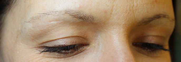 Client #4 - Before Permanent Makeup Eyebrows #2