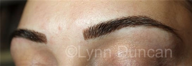 Client #22 - After Permanent Makeup Eyebrows #2