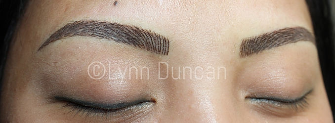Client #11 - After Permanent Makeup Eyebrows