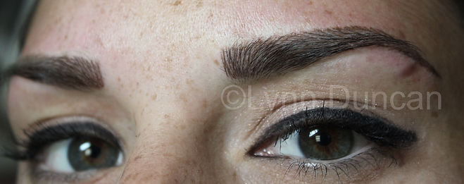Client #6 - After Permanent Makeup Eyebrows #3