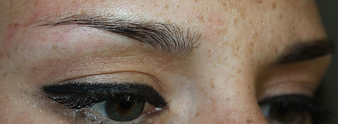 Client #6 - Before Permanent Makeup Eyebrows #2