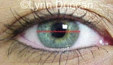 Client #15 - After Permanent Makeup Eyeliner