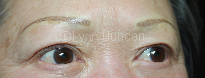 Client #13 - After Permanent Makeup Eyebrows