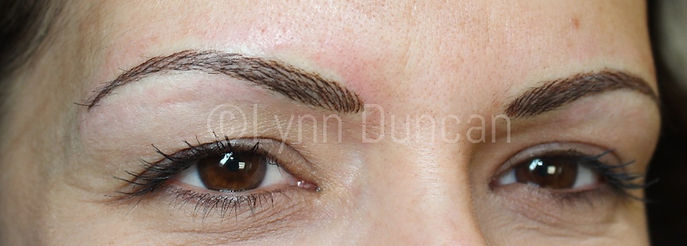 Client #4 - After Permanent Makeup Eyebrows #2