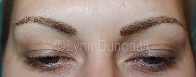 Client #15 - After Permanent Makeup Eyebrows