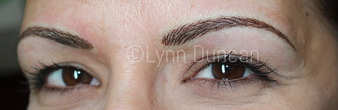 Client #4 - After Permanent Makeup Eyebrows #3