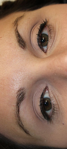 Client #5 - Before Eyebrow Microblading