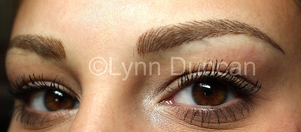 Client #2 - After Permanent Makeup Eyebrows #3