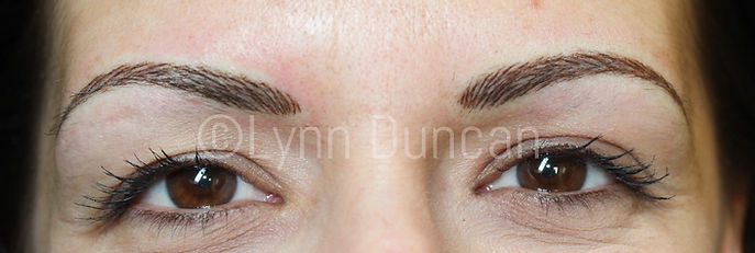 Client #4 - After Permanent Makeup Eyebrows