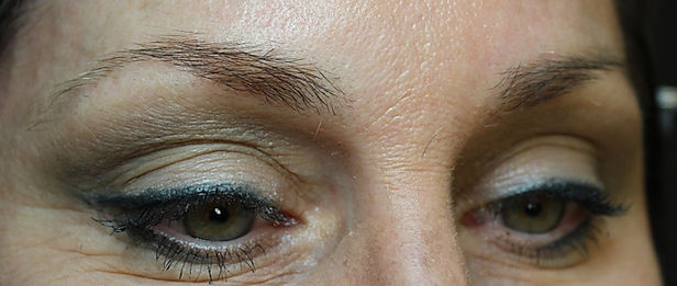 Client #3 - Before Permanent Makeup Eyebrows #2