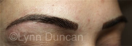 Client #22 - After Permanent Makeup Eyebrows