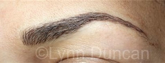 Client #18 - After Permanent Makeup Eyebrows #2