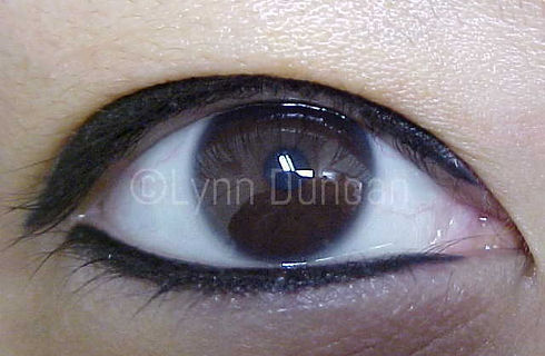 Client #14 - After Permanent Makeup Eyeliner #2