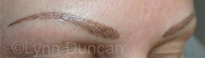 Client #24 - After Permanent Makeup Eyebrows