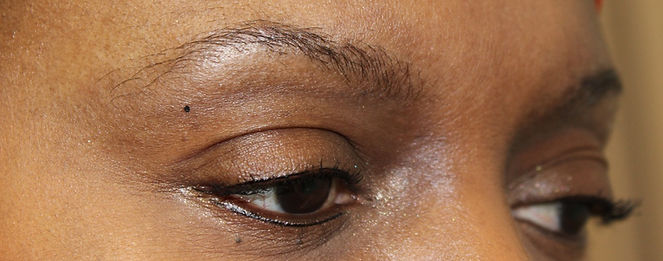 Client #5 - Before Permanent Makeup Eyebrows