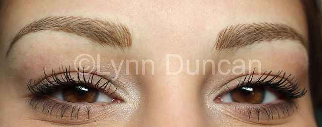 Client #2 - After Permanent Makeup Eyebrows
