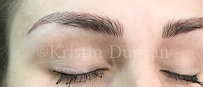Client #1 - After Eyebrow Microblading #3